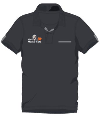 Jim's Uniform Shirt Front